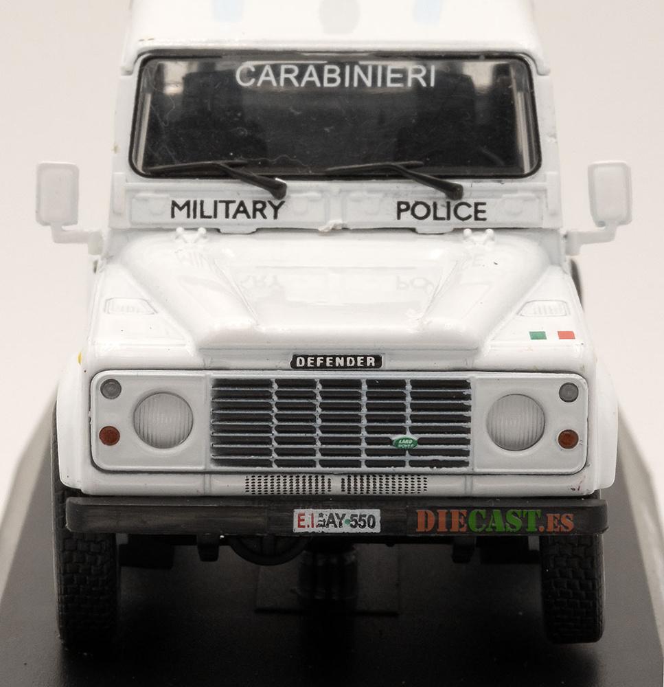 Land Rover Defender 90, UN, Policía Militar, 1998, 1/43, Colección Carabinieri