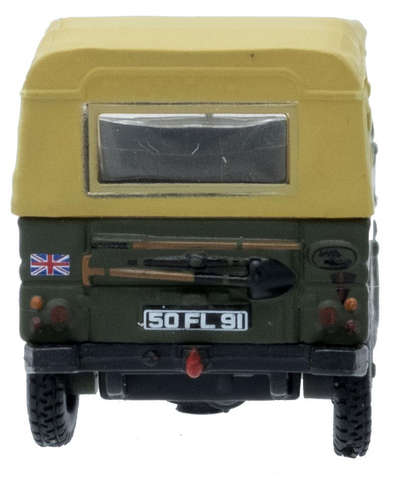 Land Rover Ligero 1/2 Ton, Naciones Unidas, 1983, 1:76, Oxford
