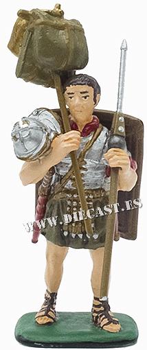 Legionario romano en orden de marcha, Siglo II d.C., 1:32, Italeri