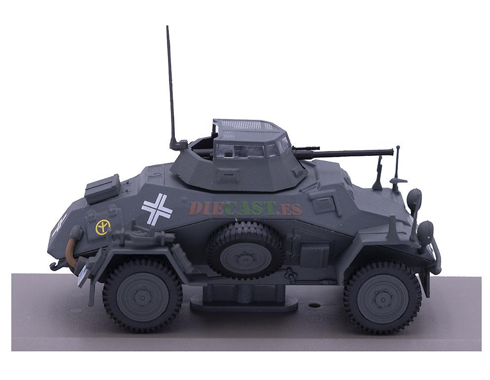 Leichter Panzerspähwagen Sd.Kfz.222, 1:43, Atlas