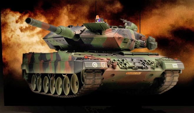 Leopard 2 A5 NATO, 1:24, VS Tank Pro