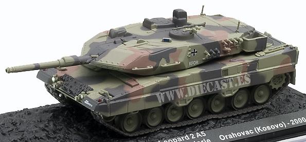Leopard 2A5, Orahovac, Kosovo 2000, 1:72, Altaya