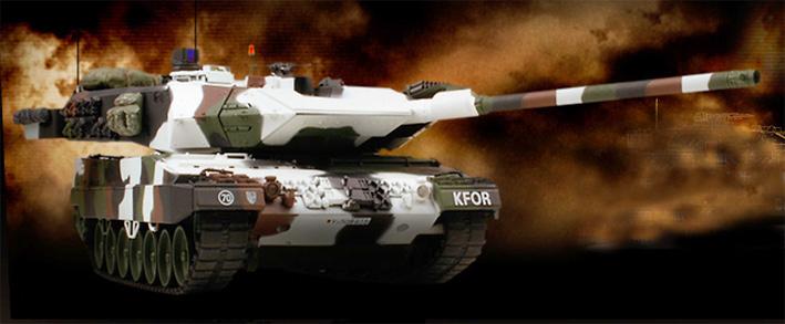 Leopard 2a6, KFOR, 1:24, VS Tank