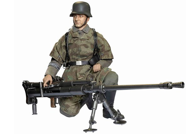 Leopold Nuss, Gefreiter, Wehrmacht Heer GD Anti-Tank Rifleman, Fusilier-Regiment