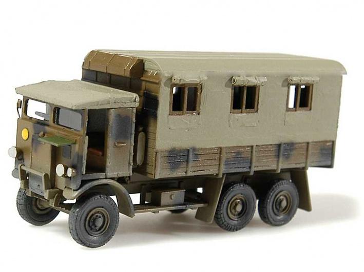 Leyland Monty Caravan, 1:72, Wespe Models