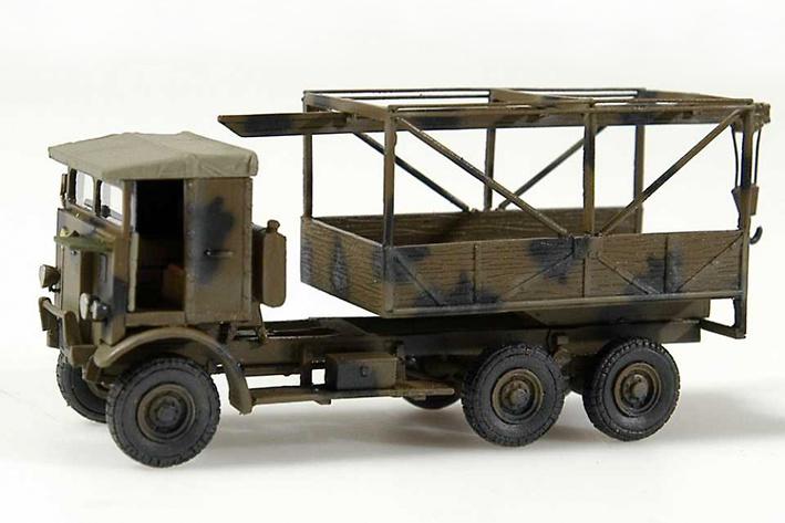 Leyland Wrecker, 1:72, Wespe Models
