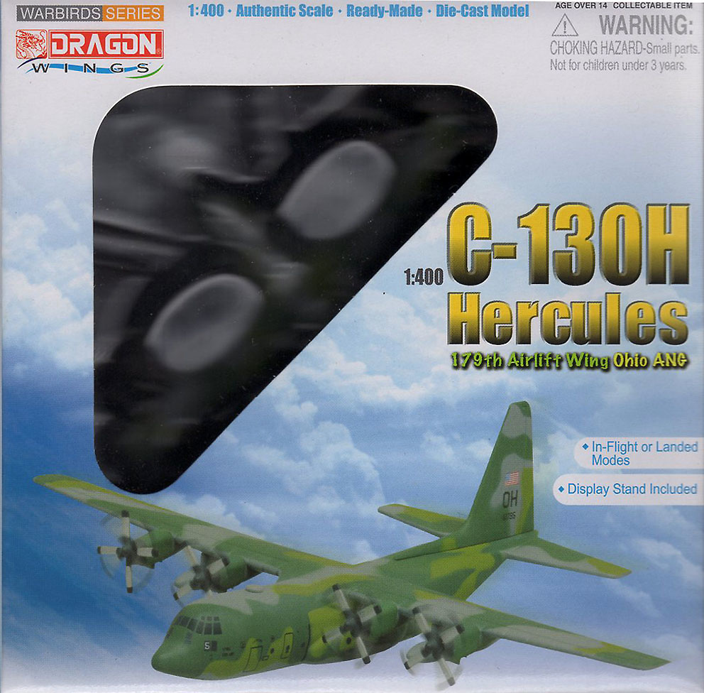 Lockheed C-130H Hercules, 179th Airlift Wing, Ohio ANG, Dragon Wings