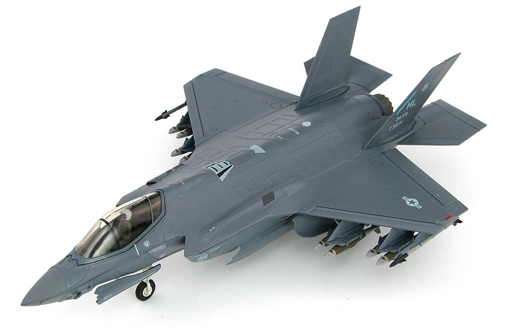 Lockheed F-35A AF13-5071/HL, 34th FS, 2016, 1:72, Hobby Master