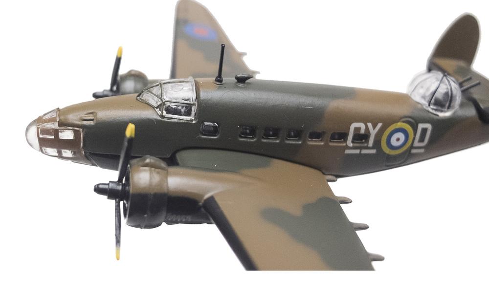 Lockheed Hudson, Gran Bretaña, 1938/43, 1:144, Editions Atlas