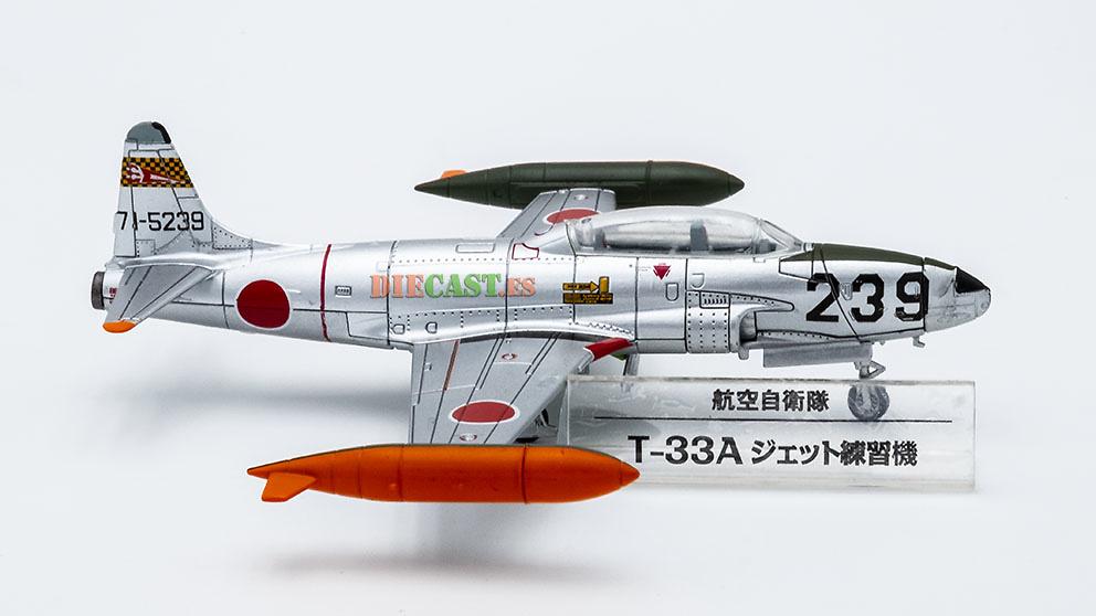 Lockheed T-33A, JASDF, Japón, 1:100, DeAgostini