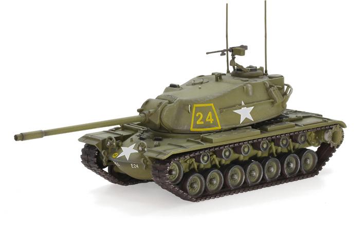 M103A1 Heavy Tank, E Company 34th Armor 24th Infantry Division, Alemania, 1959, 1:72, Dragon Armor