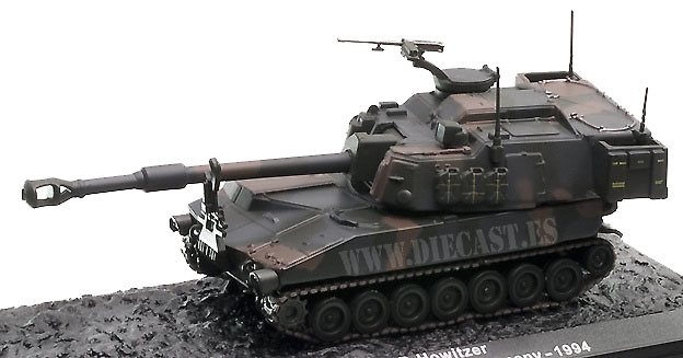 M109A6 Paladin S.P. Howitzer, Germany, 1994, 1:72, Altaya