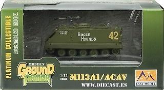 M113A2 3rd Bn HQ 69th Armor Rgmt 1st Bgde 3rd Infantry, 1:72, Easy Model