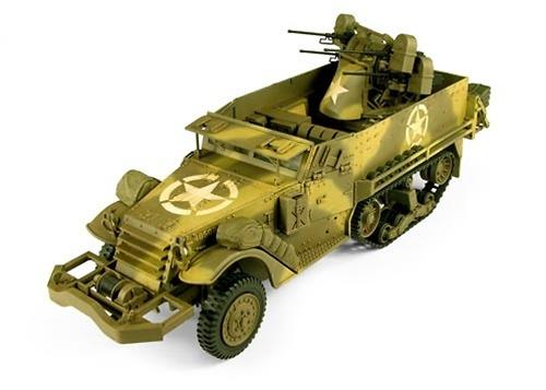M16 Semioruga con ametralladoras calibre 50, 1:18, 21st Century Toys