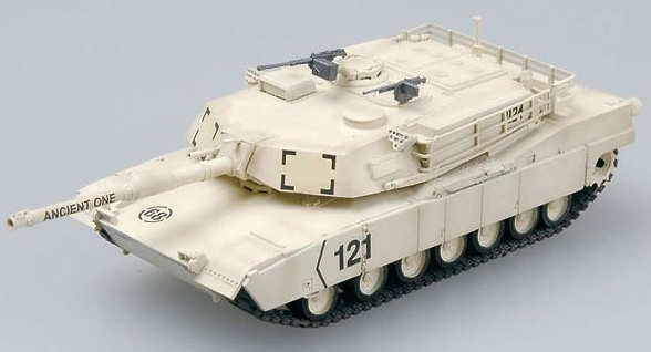 M1A1 U.S. Main battle tank, 1:72, Easy Model