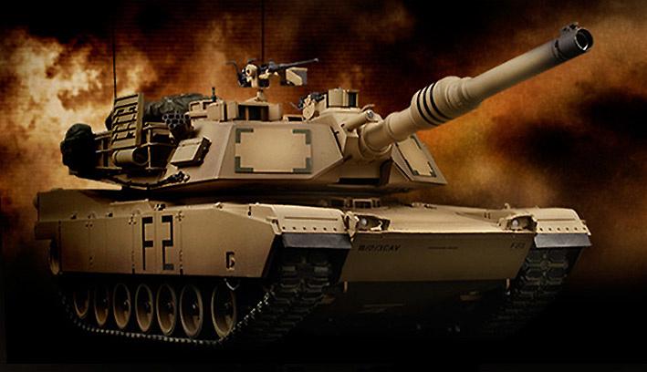 M1A2 ABRAMS, USA, 1:24, VS Tank