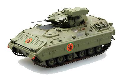 M2 Bradley, Camuflaje Verde, 1:72, Easy Model