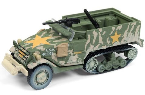 M2 Semioruga, USA, 2ª G.M., 1/64, Johnny Lightning