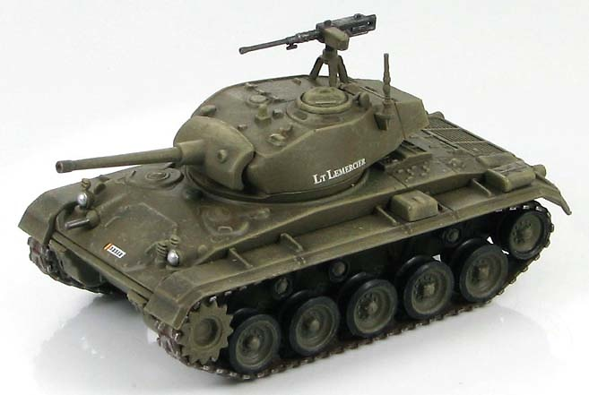 M24 Chaffee 719 Armored Regiment, Belgian Army, 1:72, Hobby Master