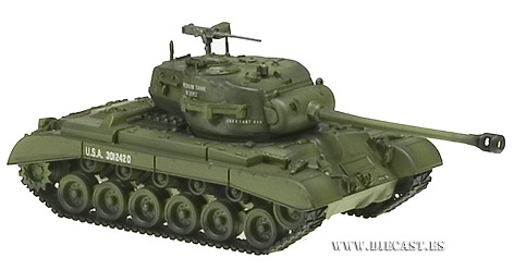 M26 E2 Pershing, US Army, 1:72, Easy Model