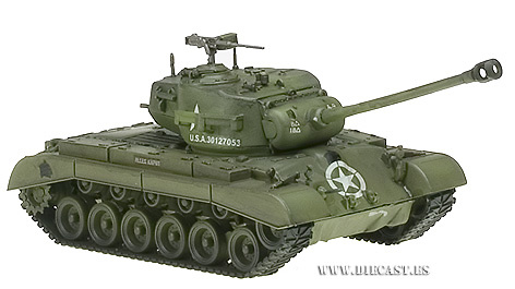 M26 Pershing, USA, Tank Company A, 18 Tank Btn. 8th Armored Division, 1:72, Easy Model