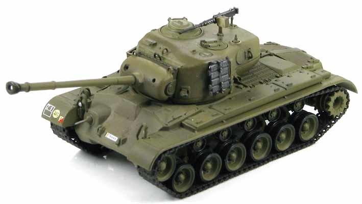 M26A1 Pershing Belgium Army
