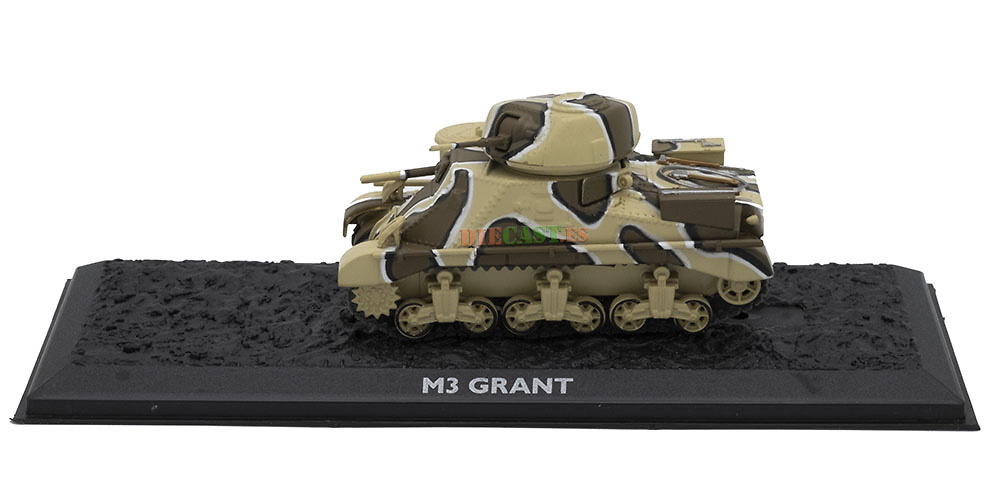 M3 Grant, USA, 1941/43, 1:72, Atlas Editions