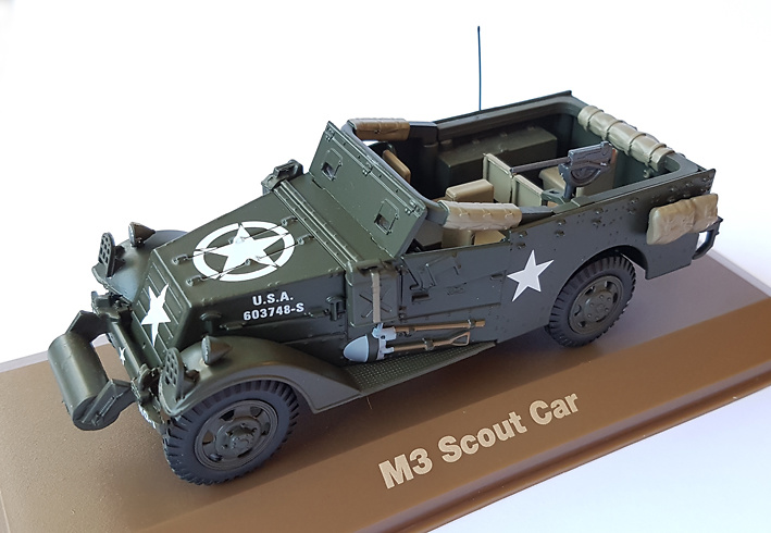 M3 Scout Car, 1:43, Atlas
