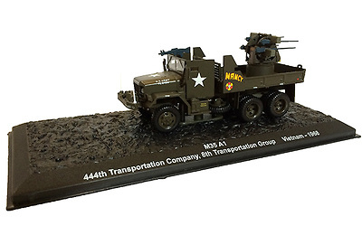 M35A1 444th Transportation Company, 8th Group, Vietnam 1968, 1:72, Altaya