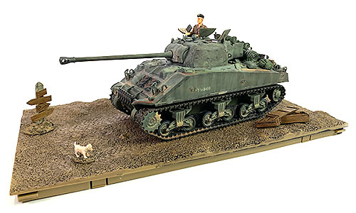 M4 Sherman Firefly, 8º Ej. Británico Blindado, Normandía, Día D, 1:32, Forces of Valor