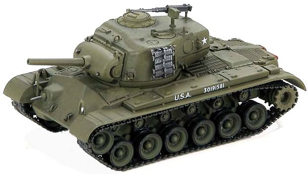 M45 Pershing 6th Tank Battalion, 1:72, Hobby Master
