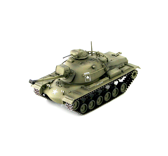 M48A3 Patton MBT C Company, 2nd Bttn., 34th Armor, Operation Cedar Falls, 1967, 1:72, HobbyMaster