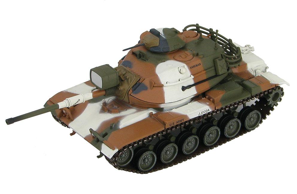 M60A1, 3º Batallón de Carros, 3ª División Acorazada, Ejército USA, Alemania, 1977, 1:72, Hobby Master