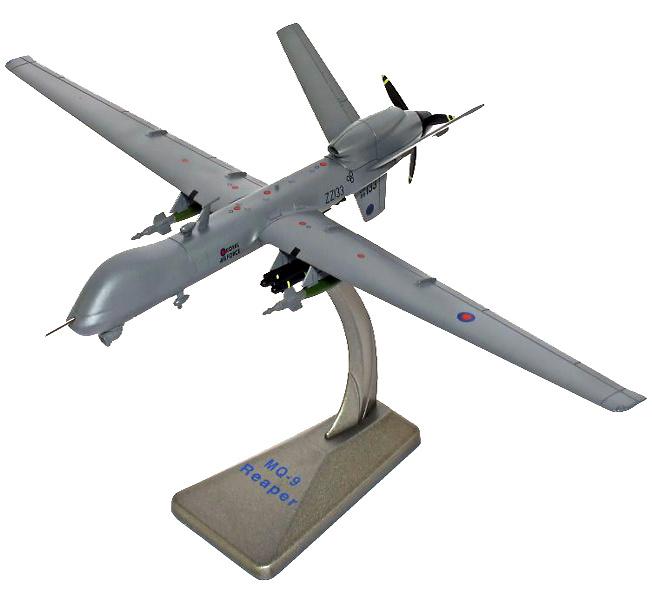 General Atomics MQ-9 Reaper Drone UAV, ZZ133, 39Sqn RAF, Afghanistan 2011-2012, 1:72, Air Force One