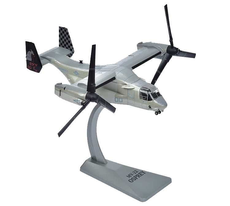MV-22 Osprey Tiltrotor (USMC) Black Knights, VMM-264 MCAS, 1:72, Air Force One
