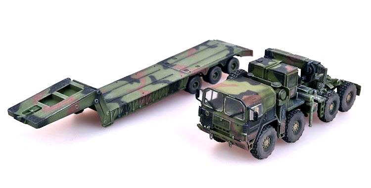 Man KAT1M1014 con semi-trailer M870A1, Alemania, 1:72, Modelcollect