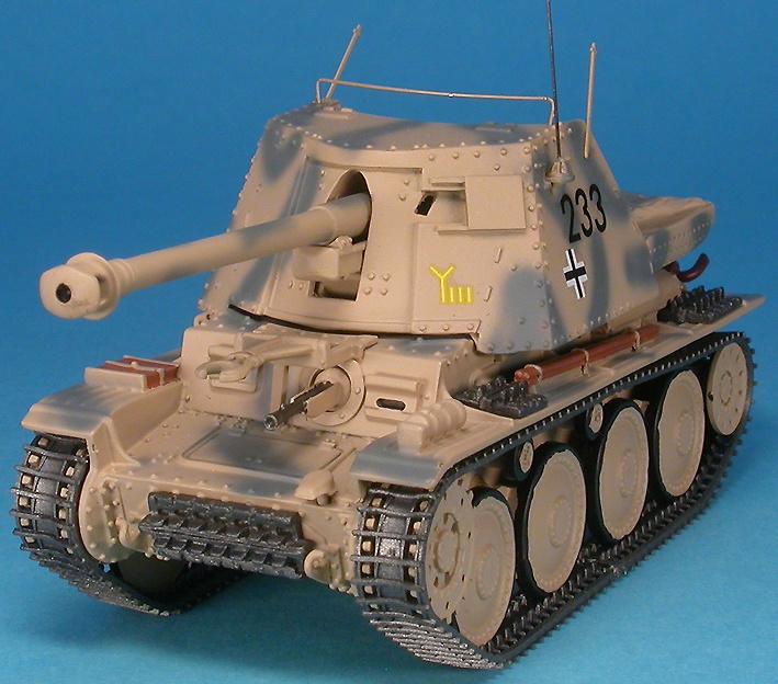 Marder III Ausf.H 7.5 cm Pak40, 9th Pz. Div.l, Kursk, Rusia, 1943, 1:48, Gasoline