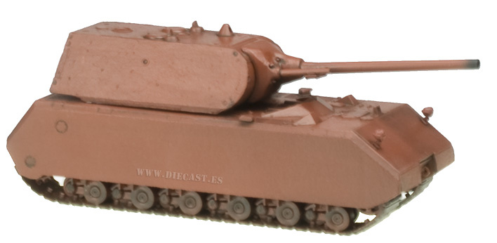 Maus, Ejército Alemán (Color Base), 1:72, Easy Model