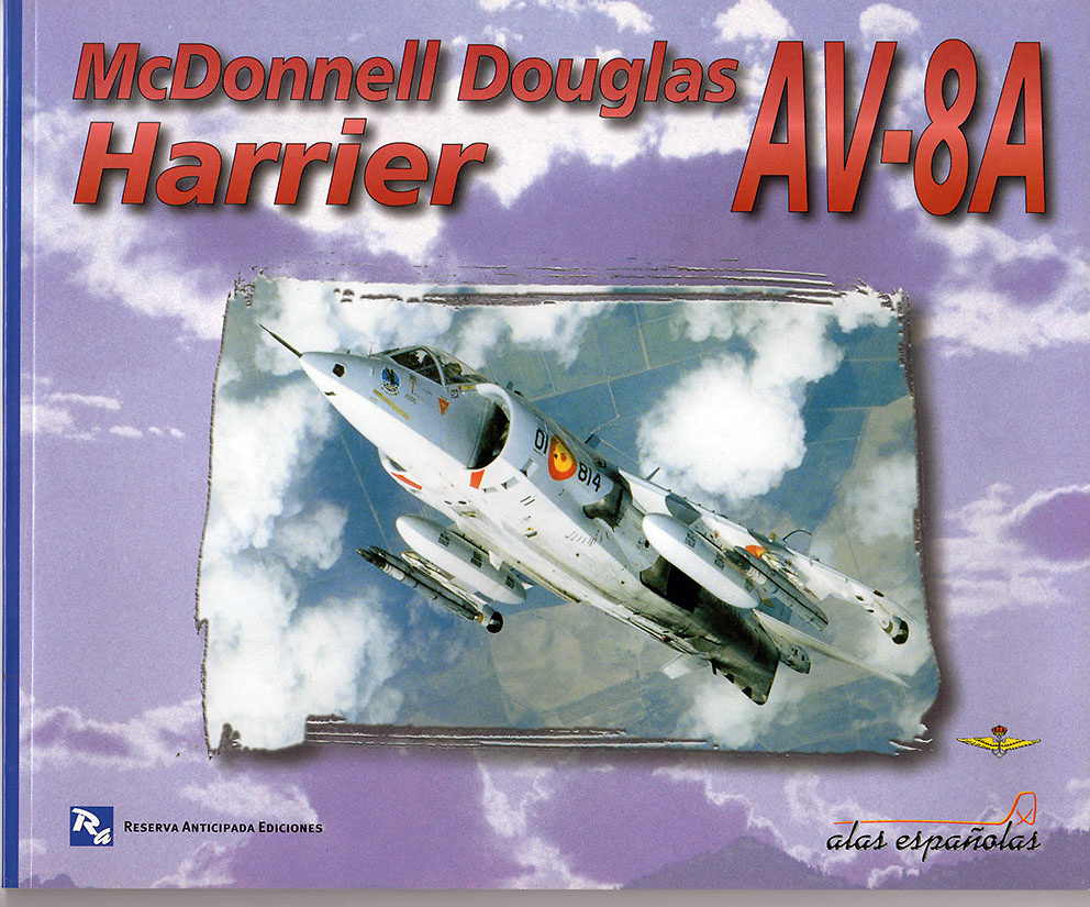 McDonnell Douglas Harrier AV-8A (Libro)