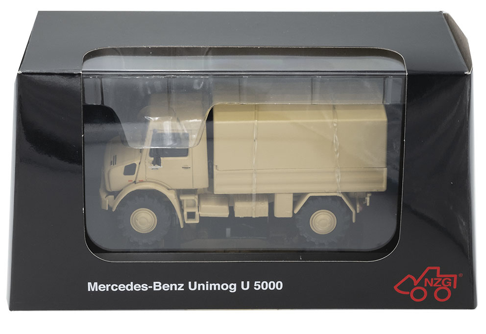 Mercedes Benz Unimog U5023 Offroad, 1:50, NZG