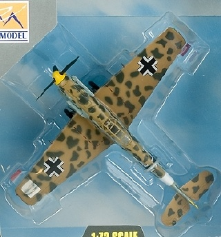 BF109E/TROP, 1/JG27, Marsella,1:72, Easy Model