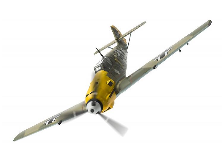 Messerschmitt Bf 109E-4, W.Nr.5057, 'Yellow 1', Oberleutnant Josef 'Pips' Priller, 6./JG51, Mardyck, Francia, Octubre, 1940, 1:72, Corgi