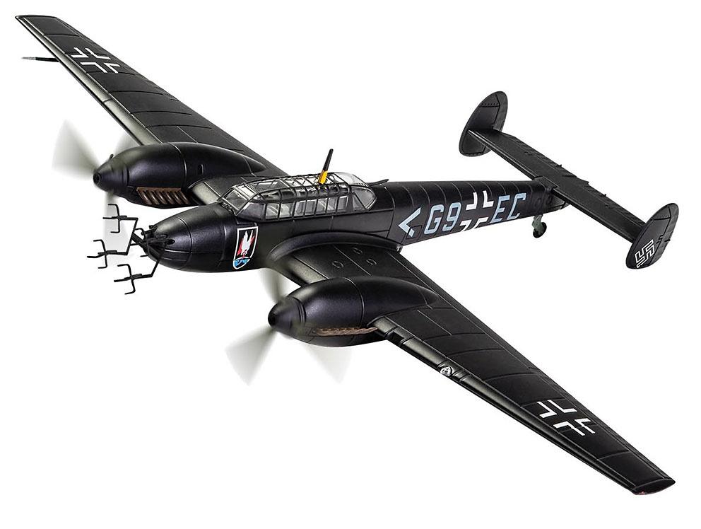 Messerschmitt Bf 110E, Stab II./NJG 1, Deelen, Holanda, Primavera de 1942, 1:72, Corgi