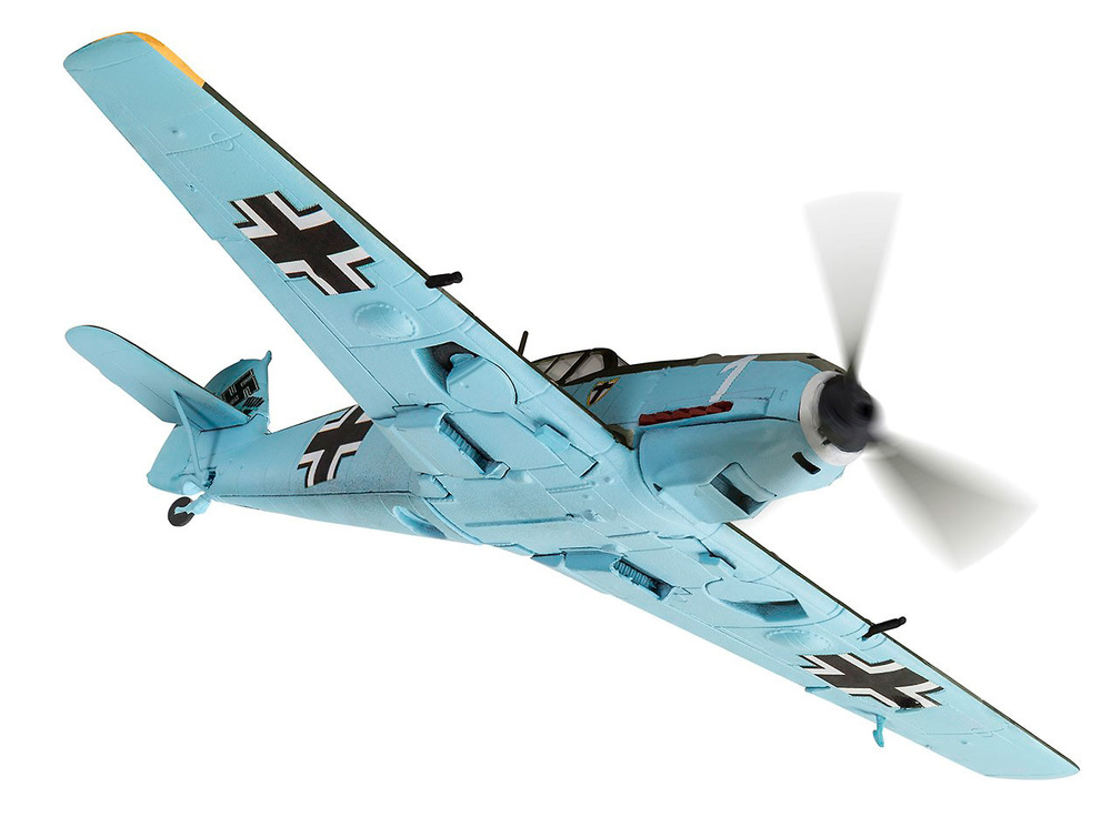 Messerschmitt Bf109E-4, piloto Wilhelm Balthasar, 1./JG.1, Francia, 1940, 1:72, Corgi