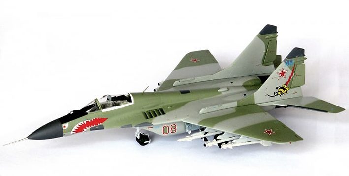 MiG-29 Fulcrum, 2nd Squadron, 1521st Aviation Base, 1991, 1:72, JC Wings