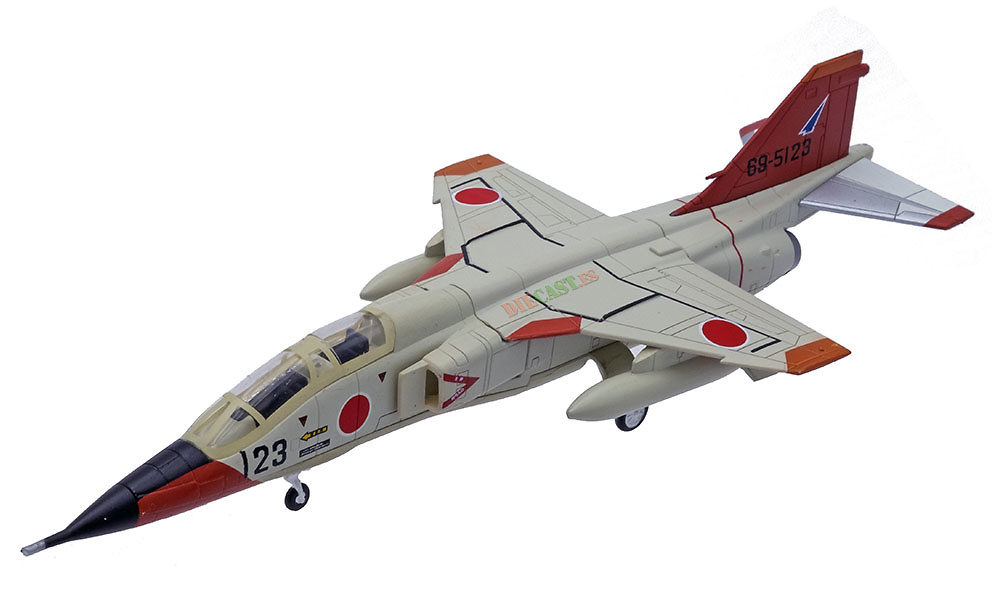 Mitsubishi T-2, JASDF, 1975–2006, Japón, 1:100, DeAgostini