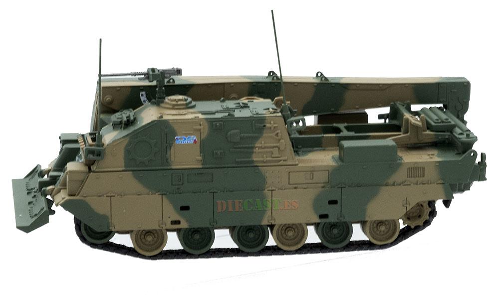 Mitsubishi Type 90 TKR, Vehículo de Recuperación, JGSDF, Japón, 1:72, DeAgostini