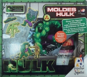 Molde Hulk, Popular Juguetes
