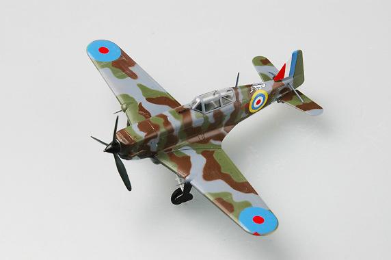 Morane Saulnier 826 Nº 406, FF.AA. Francesas, Septiembre 1940, 1:72, Easy Model