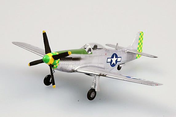 Mustang, P-51D z 55FG,8 AF, 1:72, Easy Model